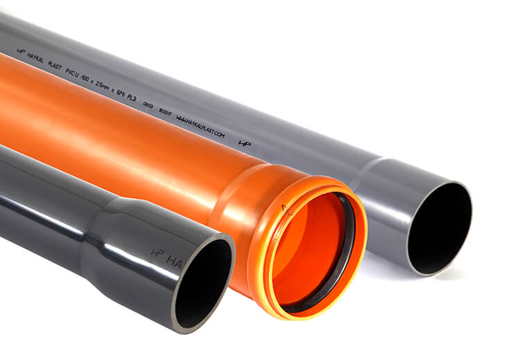Haykal Plast PVC Pipes for drainage, sewage and pressure